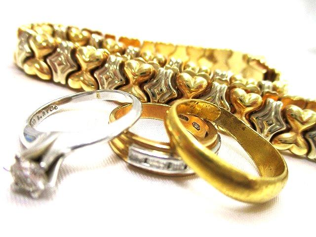 貴金属 金 プラチナ リング ネックレス