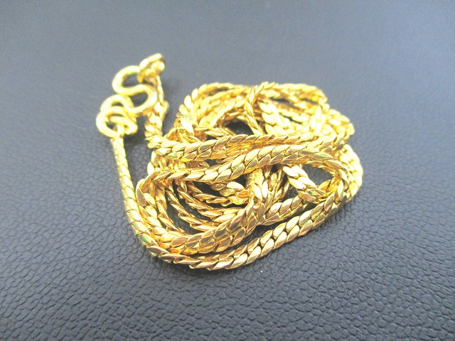 貴金属 K22 22金 ネックレス