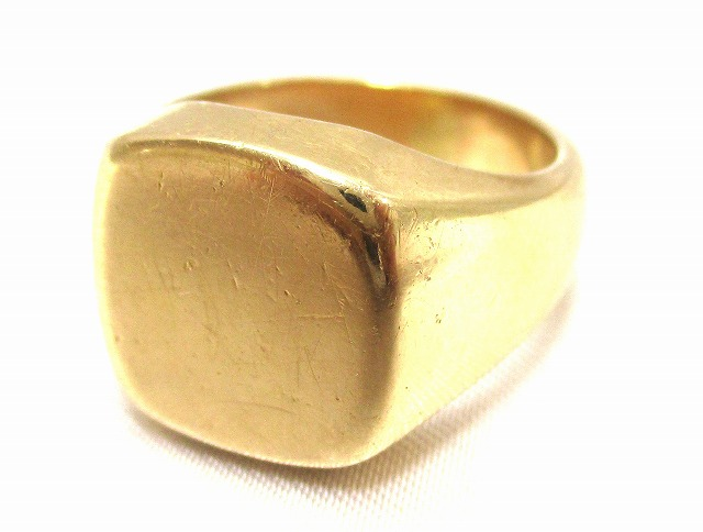 K18 リング かまぼこリング 指輪