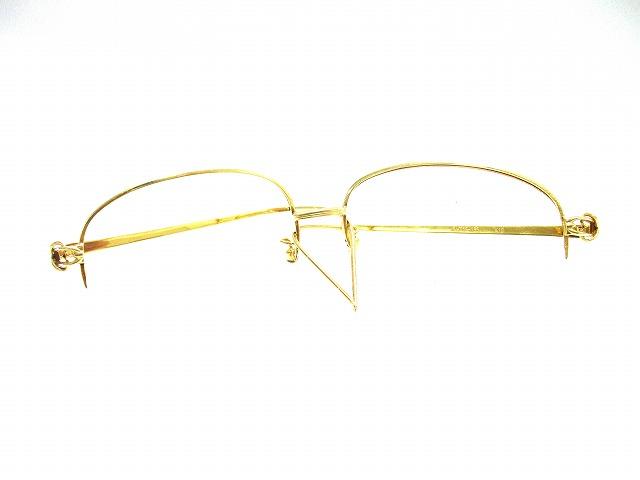 貴金属 金 K18 眼鏡 フレーム
