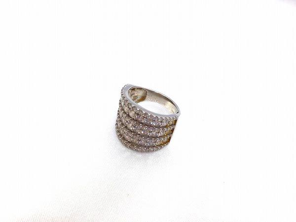 Pt900 MD3.00ct 指輪