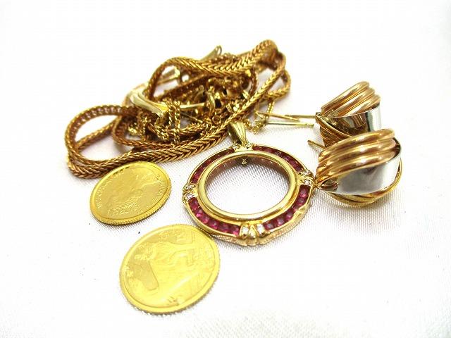 貴金属 ネックレス コイン 金貨